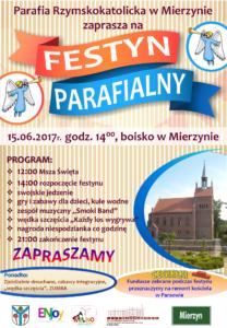 Plakat_festyn_Mierzyn_15.06.2017